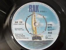 "MUD ~ DYNA-MITE ~ EX+ ~ ORIG' RAK 1973 UK POP ROCK GLAM 7"" VINYL SINGLE RECORD"