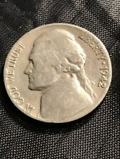 1942 D Jefferson Nickel - 15% off 5+