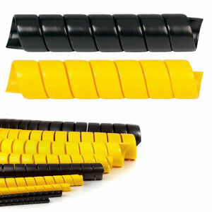 """Heavy Duty (HDPE) Spiral Wrap - 1/2"""" - 5"""" Size Options - Protect Hoses & Cables"""