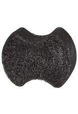 Charcoal Pedi Scrub Foot Buffer Sea Salt Eucalyptus Scented 2 per Pack