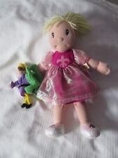 Zapf Creation Maggie Raggie Frog prince Princess plush doll kissing