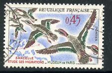 STAMP / TIMBRE FRANCE OBLITERE N° 1275 OISEAUX - SARCELLES