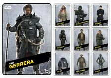 ROGUE ONE-CHALLENGERS-WAVE 2-STEEL-9 CARD SET+SAW MELD-TOPPS STAR WARS TRADER