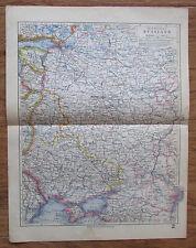 Mittleres Russland Russia - alte Landkarte Karte old map 1928