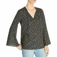 LE GALI NEW Women's Jani Paisley-print Bell Sleeves Blouse Shirt Top TEDO