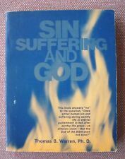 Sin Suffering and God ~ Thomas B. Warren ~ Church of Christ ~ SIGNED !!!