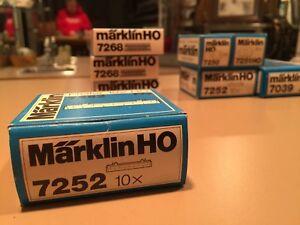 Marklin 7252, HO Bridge Pier- M K Track (10 pcs)