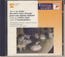 Ravel, Debussy, Satie - Ormandy, Szell, Lane: Orchestral Works (Sony) Like New