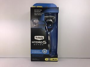 1  Schick Hydro 5 Sense Men's Razor,Hydrate With Each Shave, with 2 Cartridges