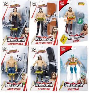 WWE Wrekkin Figures - Mattel - Brand New - Boxed - SHIPPING COMBINES