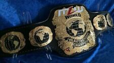 MLW World Heavyweight Championship 2MM Brass Leather Belt ( Rplica )