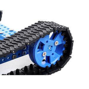 Crawler Tank Track Size 25*3.8cm For Robotic Car Model Wheels Toy Model Hobby
