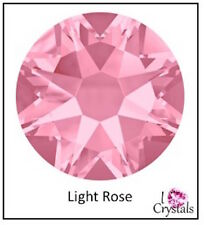 LIGHT ROSE Pink 144 5ss 1.8mm Swarovski Crystal 2058 Flatback Rhinestone Nail