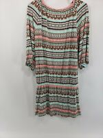 Womens Kenneth Cole Aztec Dress Size Large