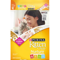 Kitten Chow Purina Complete Cat Food 14 Lb Nurture Bag Prime healthy Hig Protein