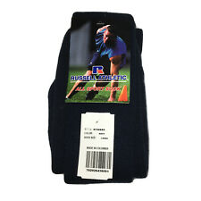 Russell Athletic All Sport Sock Size Large Navy Blue Over the Calf RTS00AS