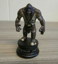 Black pawn Catapult Troll-Eaglemoss Lord of the Rings chess Set 2 Issue #55