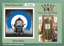 60's style LARGE Mod Cloth Patch Parka Bomber - JIMMY QUADROPHENIA MOD - P5.0064