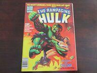 Rampaging Hulk #8 April 1978 Marvel Treasury Size Comic VF+ 8.5