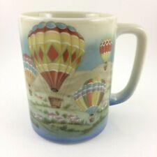Vintage Otagiri Japan Hot Air Balloon Coffee Tea Cup Mug 8oz