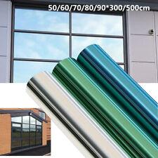500/300cm One Way Mirror Window Film Privacy Reflection Tint Solar Glass Sticker