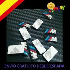 5 X PegatinaS 17*9MM 3D Auto adhesivo para BMW M3 M5 M6 Logo llantas volante