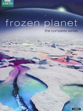 Frozen Planet DVD Box Set David Attenborough Complete BBC Series R4 New