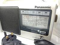 Panasonic RF-545L Touch n Tune Transistor Radio FM LW MW SW Portable Vintage