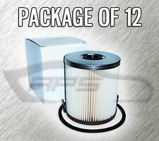 FUEL FILTER F55055 (NO CAP) FOR FORD F250 F350 7.3L TURBO DIESEL - CASE OF 12