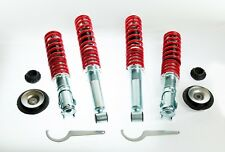KIT SUSPENSION REGLABLES COMBINES FILETÉS AMORTISSEURS + COUPELLES - VW GOLF 2