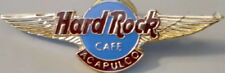 Hard Rock Cafe ACAPULCO 1997 HRC Logo with GOLD AIR WINGS PIN - HRC Catalog #191