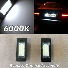 F10 F11 NO ERROR 6000K LED LICENSE PLATE LIGHT LAMP FOR 11-16 528i 535i 550i M5