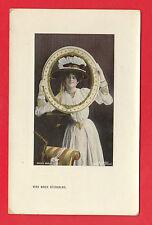 EDWARDIAN  POSTCARD  -  ACTRESS  -  MISS  MARIE  STUDHOLME  -  1908