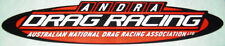 ANDRA Drag Racing  Decal (Authorised ANDRA Stockist)