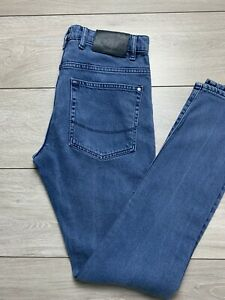 TED BAKER 'TALMA' Mens Tapered Light Wash Button Fly Denim Jeans   30R   W30 L32