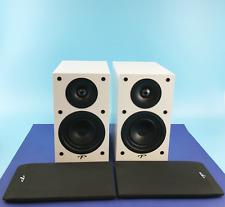 New! Paradigm Monitor SE Atom Bookshelf Loudspeaker Gloss White Pair #4166