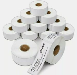 Aegis - Compatible Direct Thermal Labels Replacement for DYMO 30252 (1 12 Pack