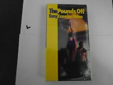 THE POUNDS OFF EASY EXERCISE VIDEO  VHS NEW - KEN ROSENTHAL, GIGI KORY,