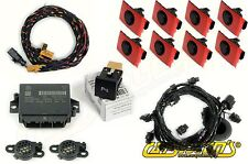 VW Golf MK 6 Front & Reat - 8 Sensors - Vehicle Parking System OPS PDC RNS MFD3