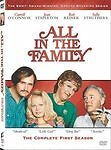 ALL IN THE FAMILY - Complete First Season - Season 1 One - DVD Set - Region 1