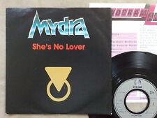 "MYDRA - SHE'S NO LOVER - 45 GIRI 7"" WITH GERMAN PROMO SHEET"
