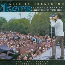 THE DOORS LIVE IN HOLLYWOOD CD