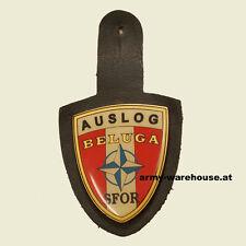 """österr. BH UN AUSLOG SFOR, Bundesheer Abzeichen, ÖBH badge, """"BELUGA"""""""