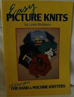 Easy Picture Knits Book for Hand & Machine Knitting - 15 Designs - M767