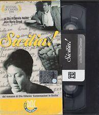 Sicilia! (1998) VHS ElleU Doc Cinema - Cannes 1999 - Vittorini - Daniel  Huillet