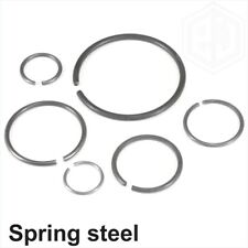 Retaining Rings Round Wire Circlip for Shafts Snap Ring DIN 7993 A Spring Steel