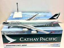 JC Wings/Gemini scale 1:200 Cathay Pacific BOEING 747-400 B-HUI