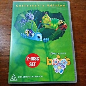 A Bug's Life Collector's Edition Disney DVD R4 Like New! FREE POST
