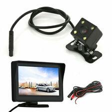 """Car Rear View Kit HD IR Night Vision Reversing Camera 170°& 4.3"""" TFT LCD Monitor"""