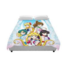 Sailor Moon Cartoon Princess Unique Bedding Duvet Cover Quilt Cover 86 x 70 Inch